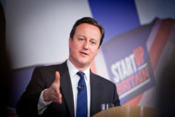 "Cameron: profit and tax cuts not ""dirty words"""