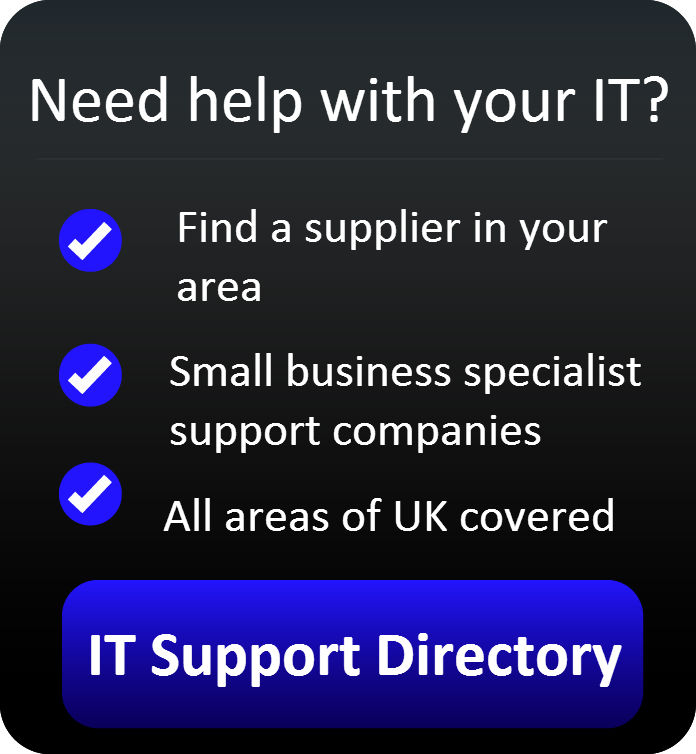 IT Support Directory button{{}}