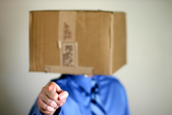 Kept in the dark about tax changes - head in a box