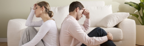 Cohabitation, separation and divorce/couple in difficulties