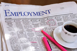 Nearly one in four looking for a new job