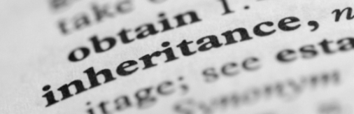 Inheritance claims - page in dictionary
