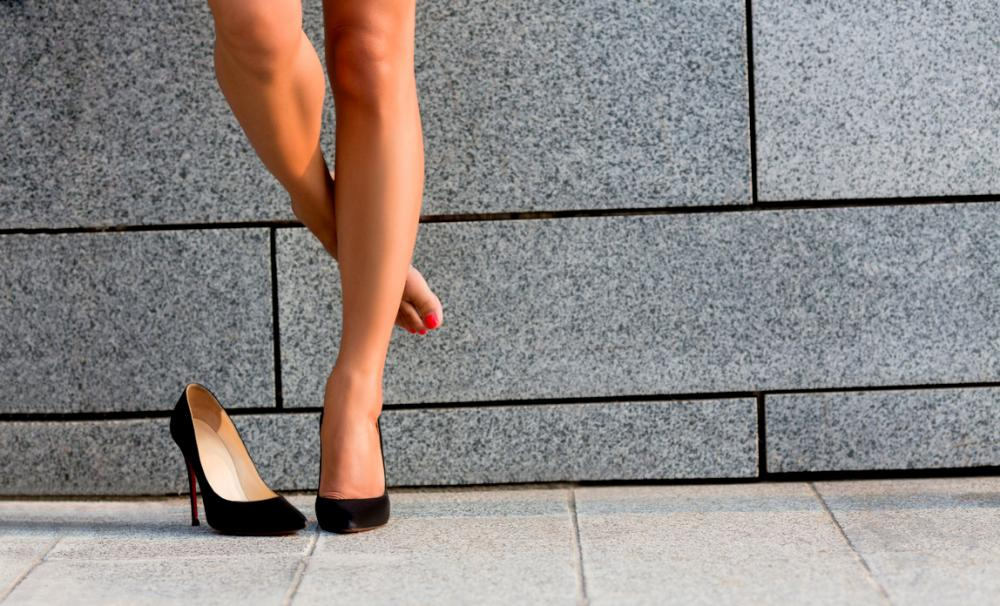 What does the high heels row mean for your business?{{}}