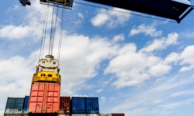 Shipping crane at docks - Apply online for an export licence