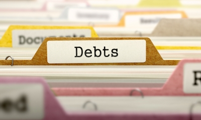 Debt folders in a cabinet - Claiming statutory interest on your debts