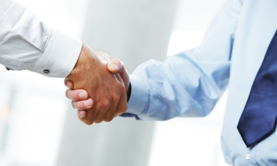 Handshake on deal
