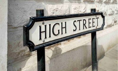 Road sign saying High Street