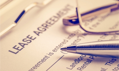 Lease agreement and pen