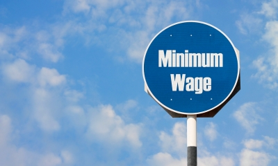 The national minimum wage