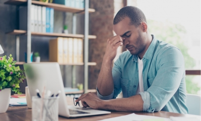 Freelance worker worried about his financial situation