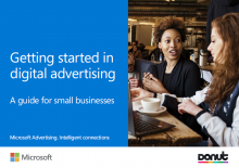Microsoft Advertising eguide cover page