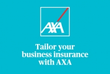 AXA business insurance logo