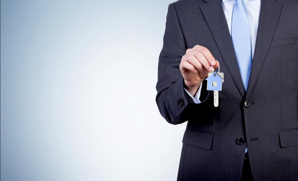 Holding keys to a buy-to-let property