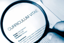 Putting an end to CV fraud{{}}