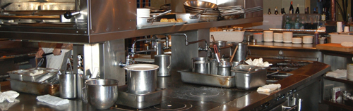 Restaurant's kitchen