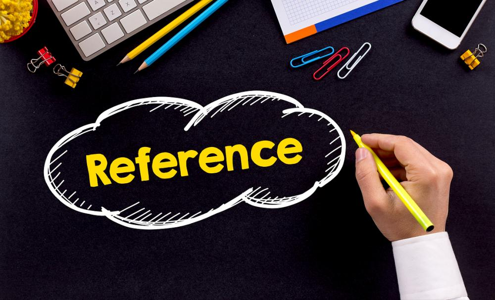 Giving references - say it nicely or say nothing at all?{{}}