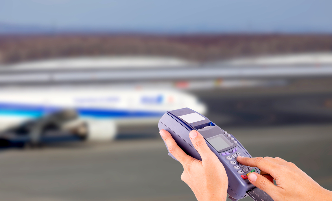 Using mobile phone at airport - Overseas customers – getting paid