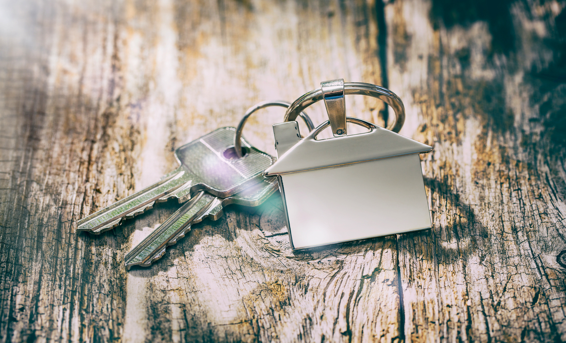 keys with house keying - Renting premises