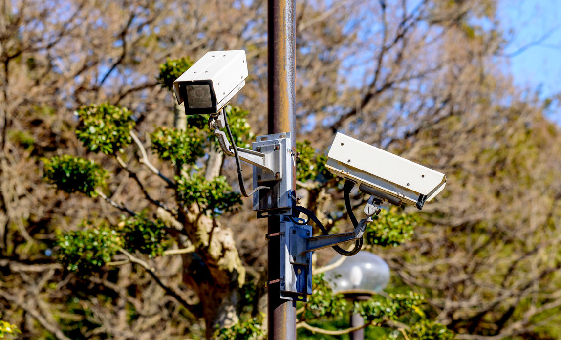 Security cameras on a pole - Surveillance camera code of practice